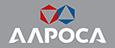 Логотип АЛРОСА партнера Первоуральского завода горного оборудования