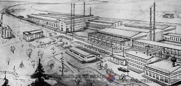 Проект реконструкции Первоуральского завода горного оборудования 1972 год