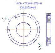 Армированные камнелитые плиты сложной формы