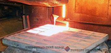 Отливка камнелитых плит