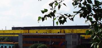 Общий вид Первоуральского завода горного оборудования 1992 год