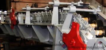 Питатель роликовый производства Первоуральского завода горного оборудования