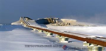 Трубопроводы удаления золы тепловых электростанций футерованные каменным литьем